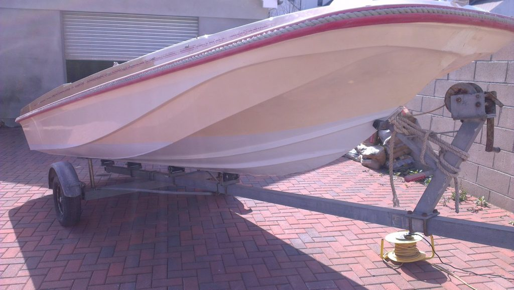best polish fiberglass boat.