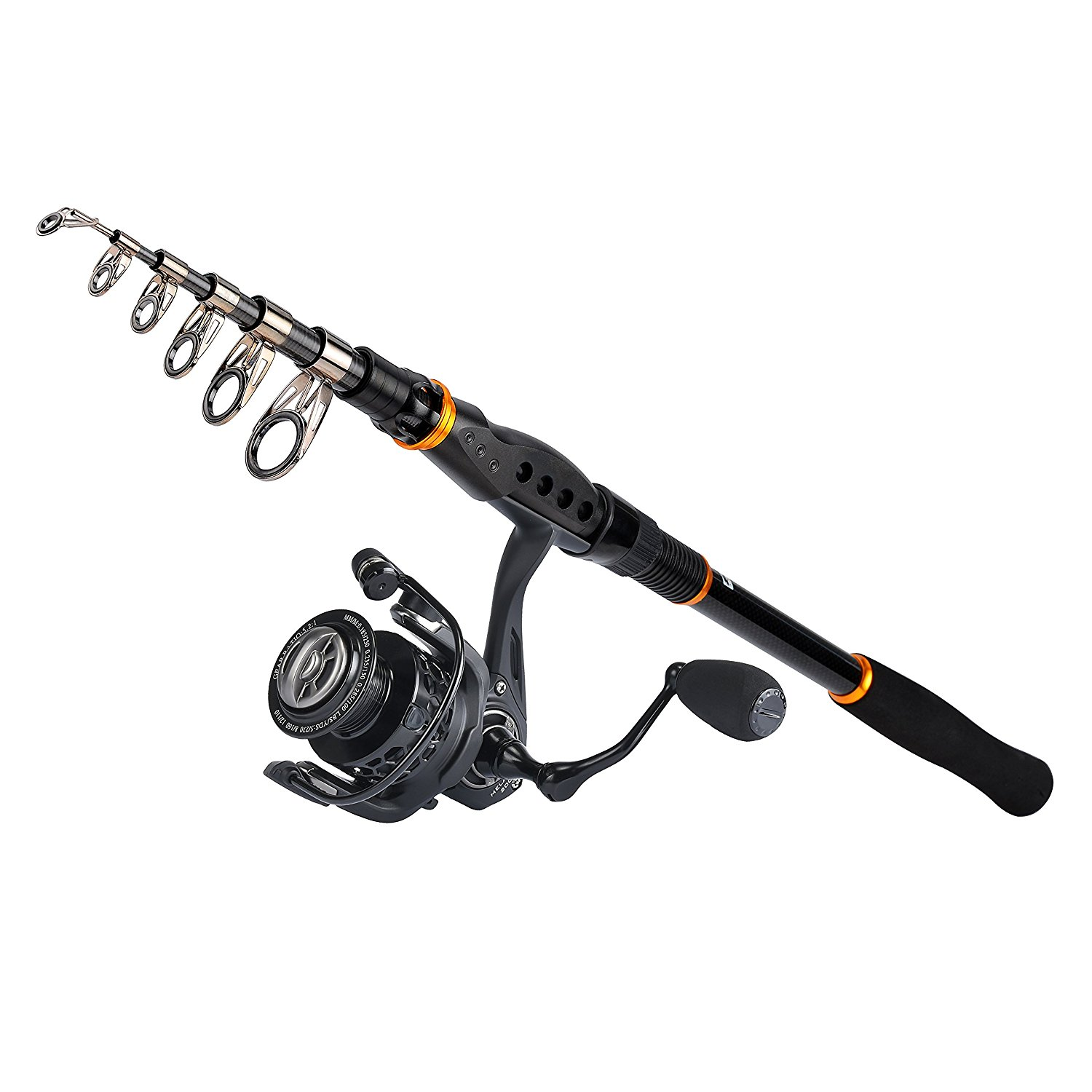 5 best fishing rod and reel combo kits for a beginner for Best fishing combo