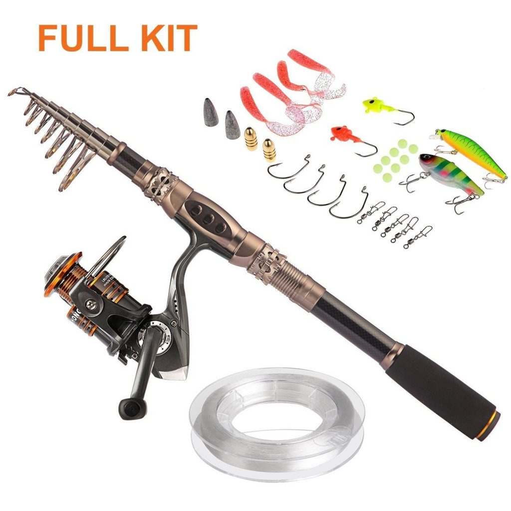 PLUSINNO Spin Spinning Rod and Reel Review
