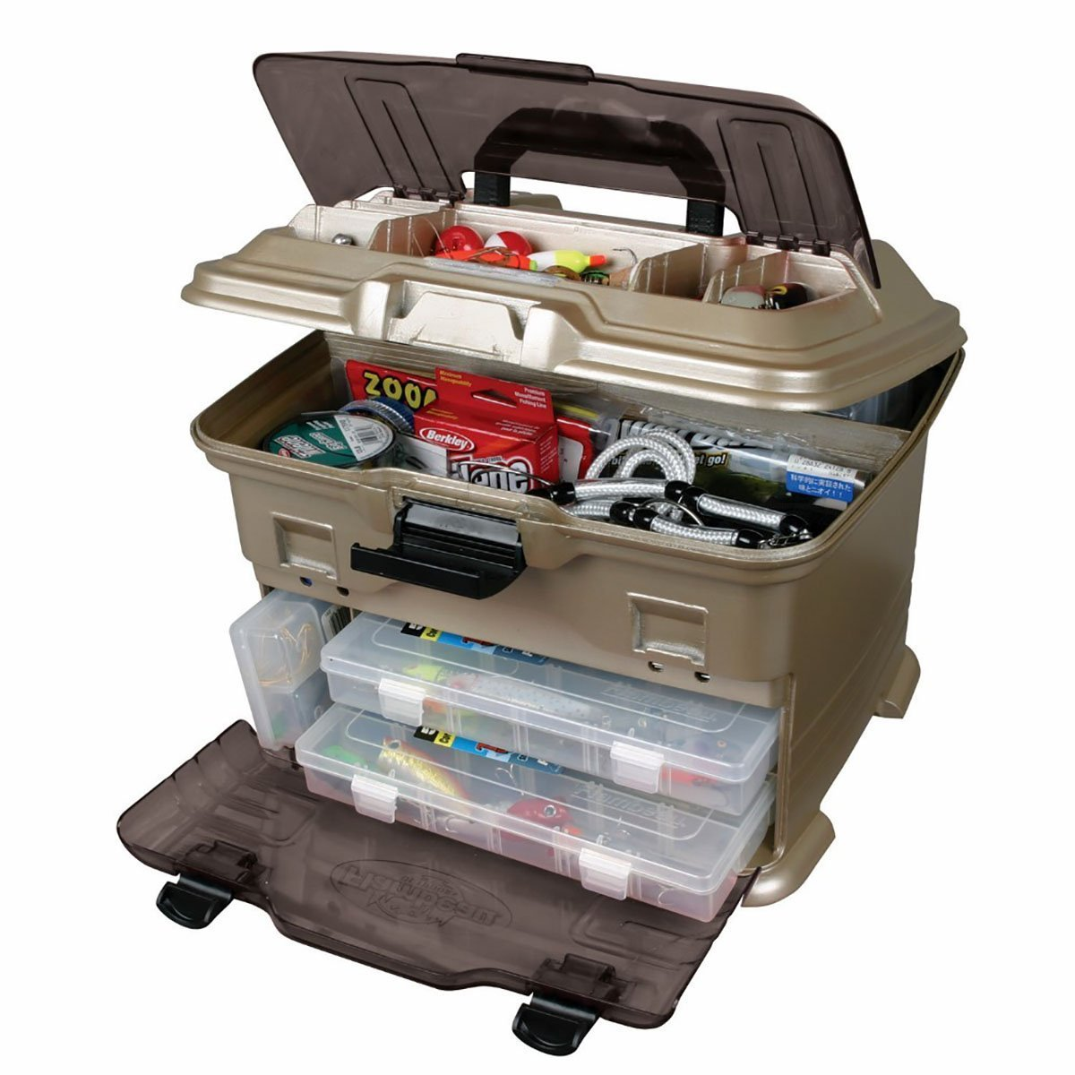5 best fishing tackle boxes 2017 hard soft to large for Best fishing tackle box