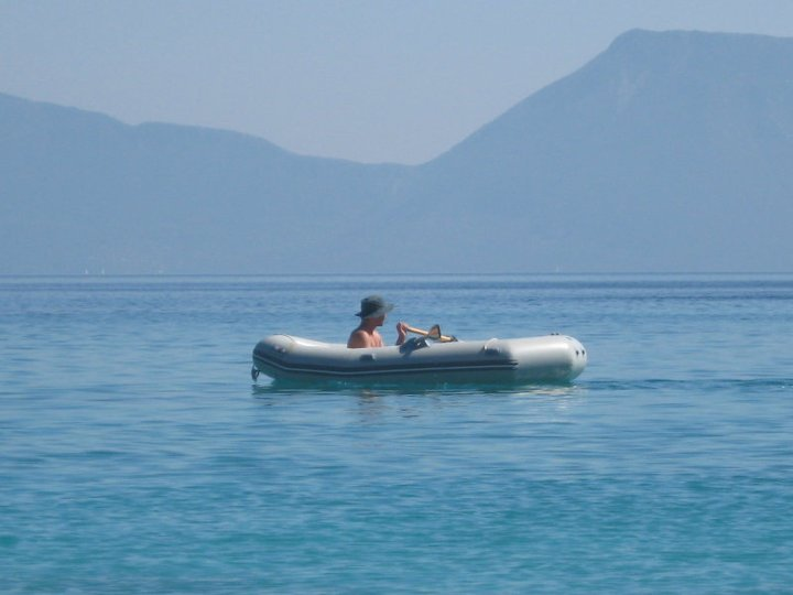 inflatable boat for ocean