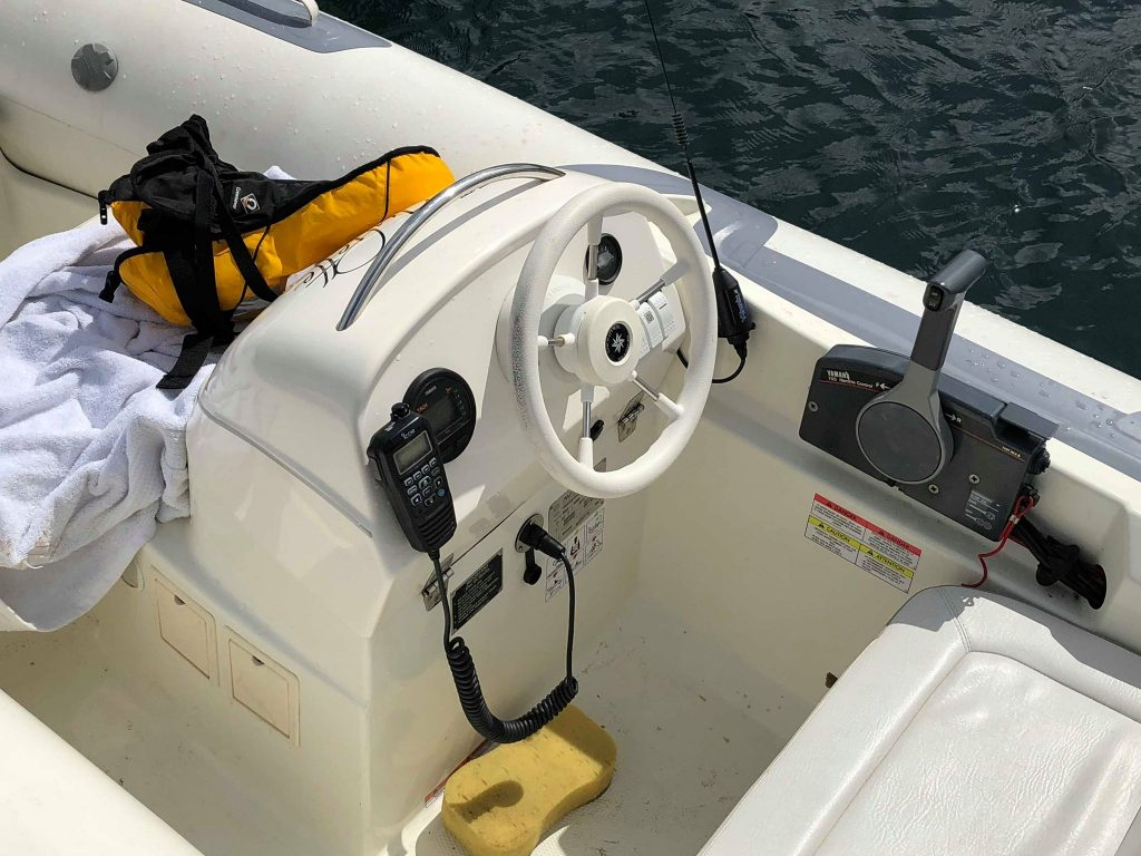 marine VHF radio that designed to float on the water.